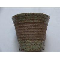 茶吹ソリ型エビネ鉢