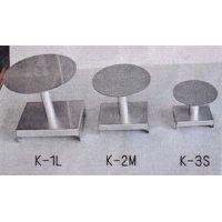 ステンレス製小品テーブル(丸形)