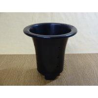 オモト用プラスチックポット50(黒)