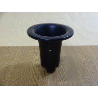 オモト用プラスチックポット35(黒)