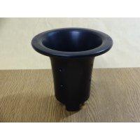 オモト用プラスチックポット40(黒)