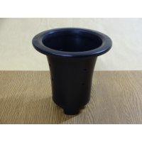 オモト用プラスチックポット45(黒)