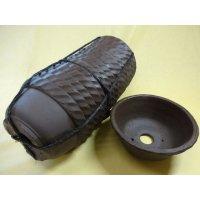 サツキ鉢(ナワブチ/ウ泥/5号/15入)