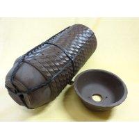 サツキ鉢(ナワブチ/ウ泥/4号/20入)